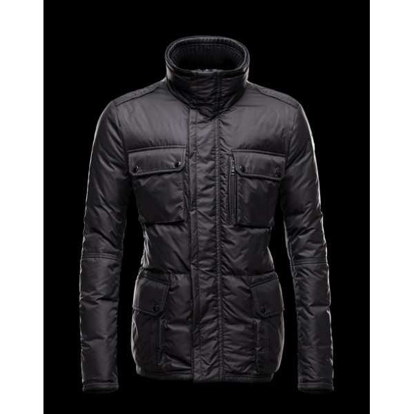 Moncler Jackets Mens Amazzone Black