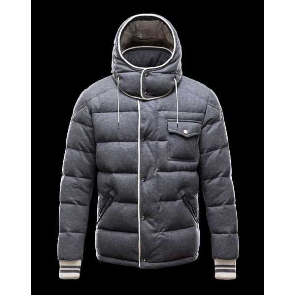 Moncler Jackets Mens Bresle Grey
