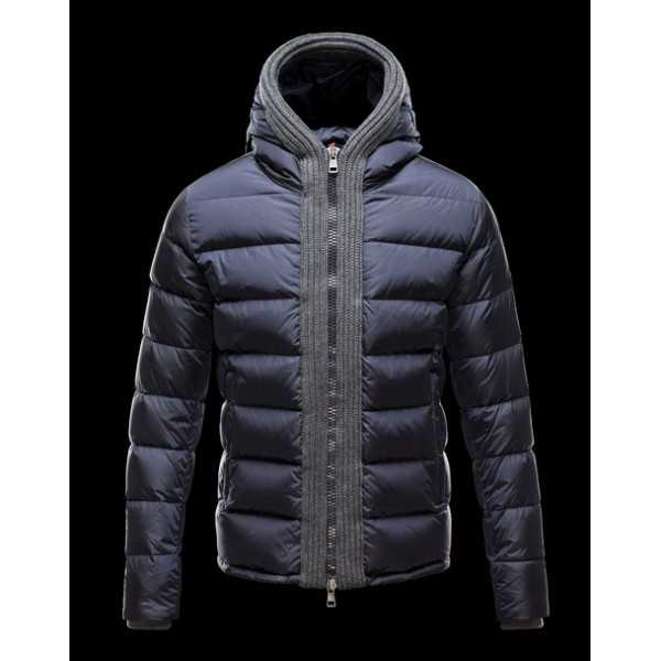 Moncler Jackets Mens Canut Blue