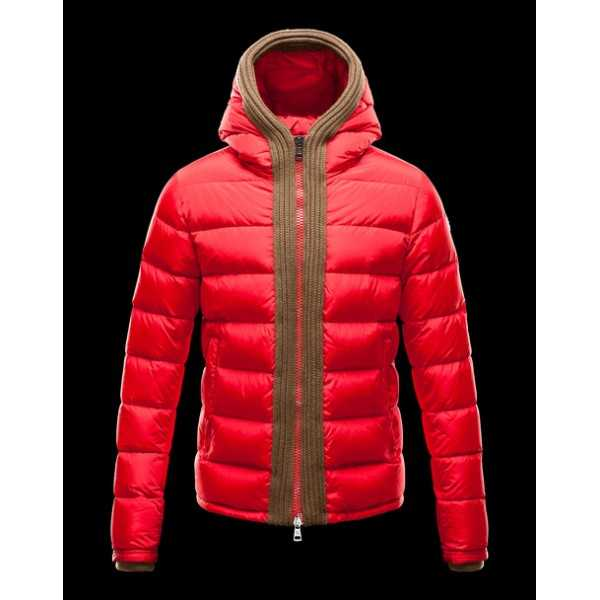Moncler Jackets Mens Canut Red