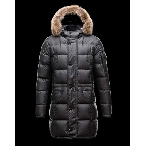 Moncler Jackets Mens Gabriel Black