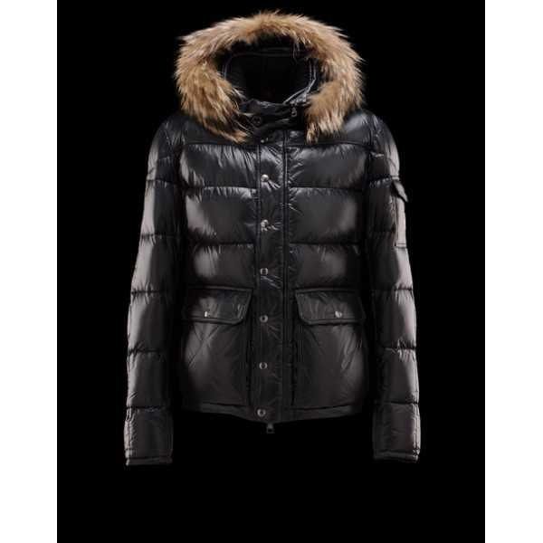 Moncler Jackets Mens Hubert Black