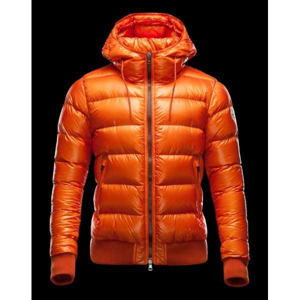 Moncler Jackets Mens Marque Golden orange
