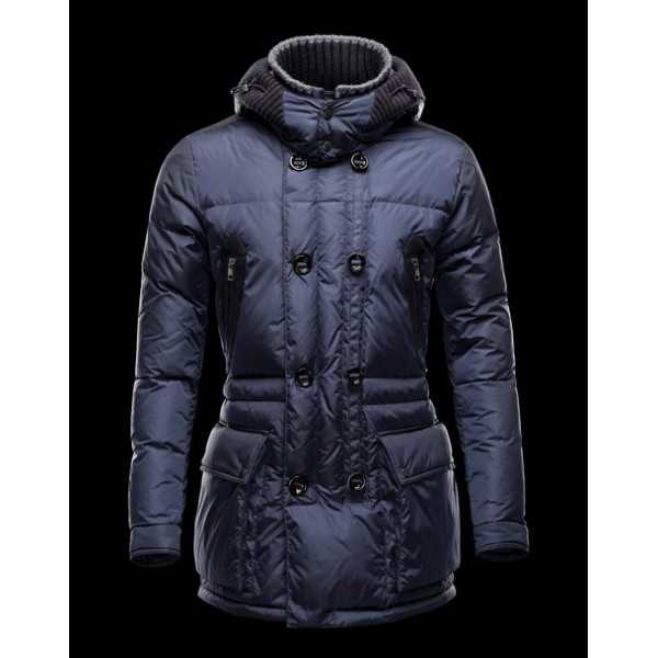Moncler Jackets Mens Mathias Blue