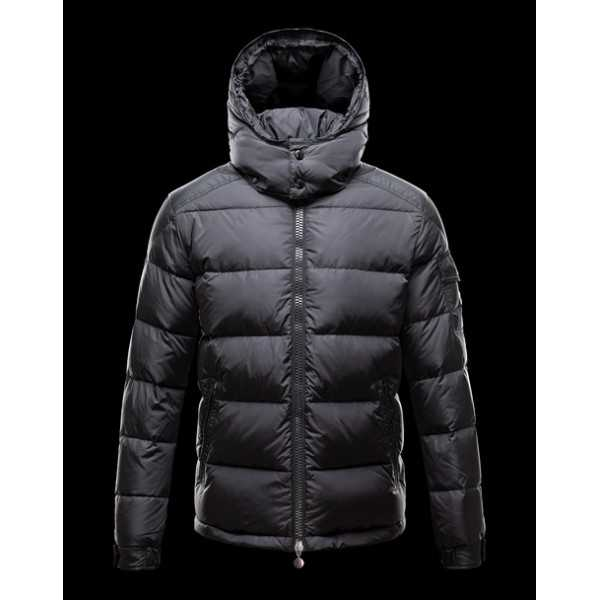 Moncler Jackets Mens Maya Black