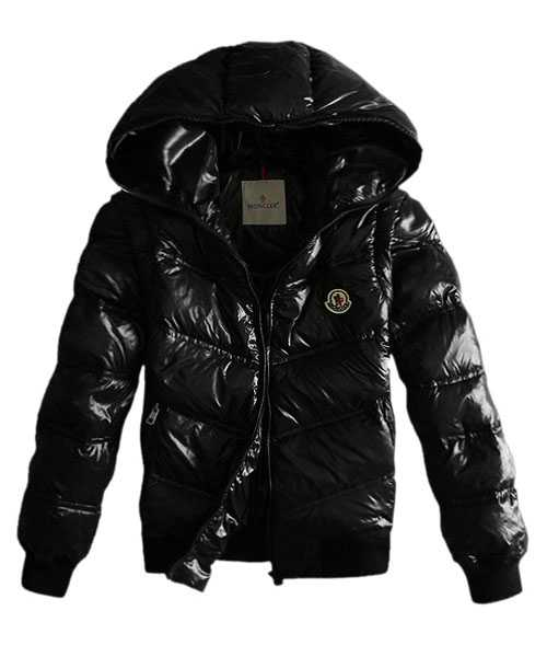 Moncler Jackets Mens Detachable Sleeve Black