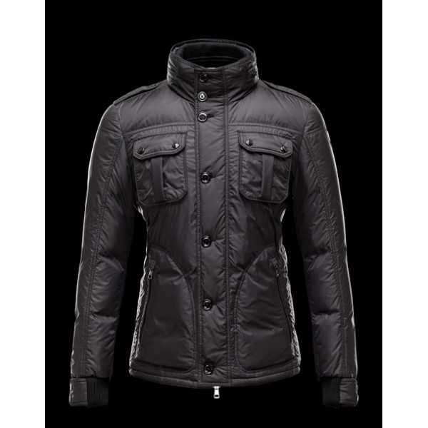 Moncler Jackets Mens Tours Black