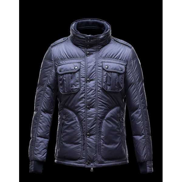 Moncler Jackets Mens Tours Blue