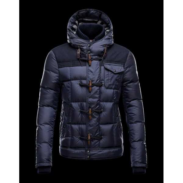 Moncler Jackets Mens Virgile Blue