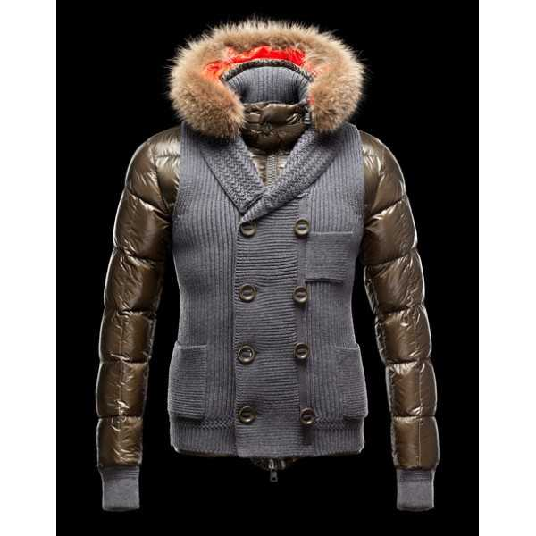 Moncler Jackets Mens Youri Grey