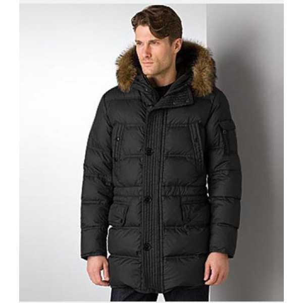Moncler Jackets Mens mi Long Affton Black