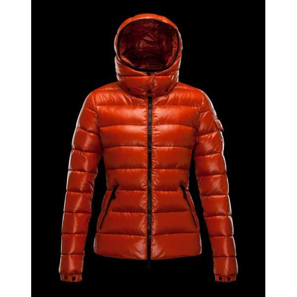Moncler Jackets Women Bady Golden orange