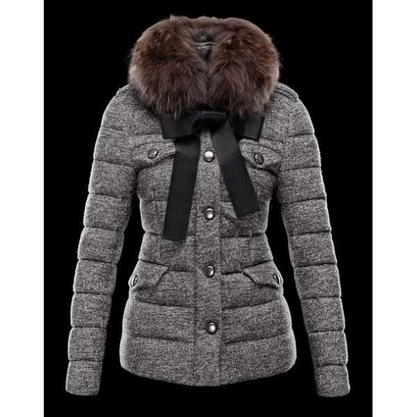 Moncler Jackets Women Cachalot Grey