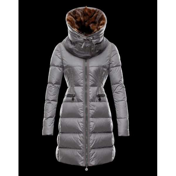 Moncler Jackets Women Chouette Grey