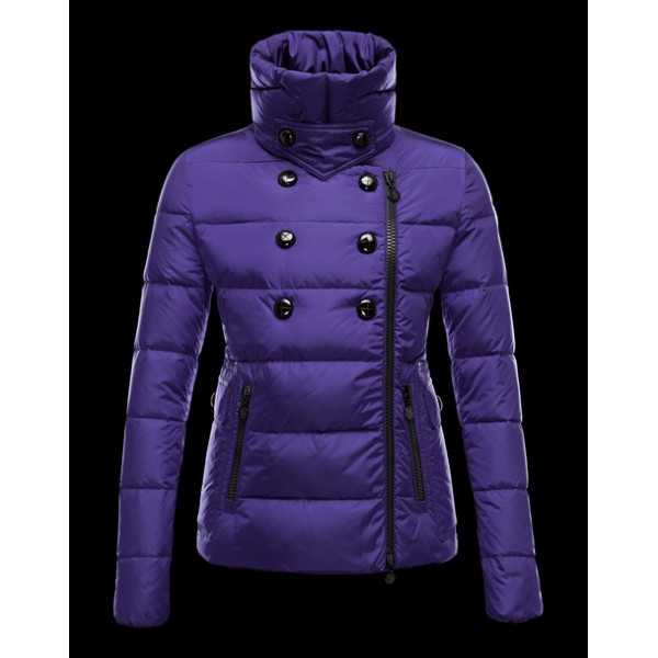 Moncler Jackets Women Daim Blue