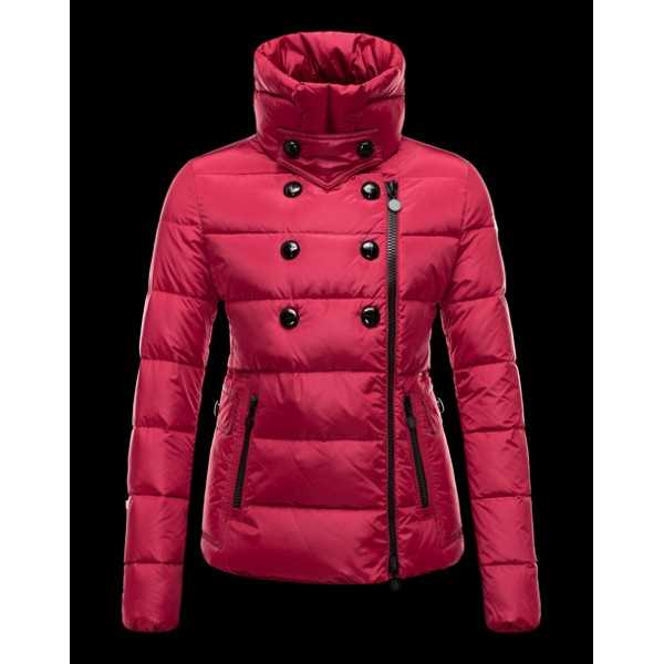 Moncler Jackets Women Daim Red