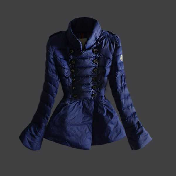 Moncler Jackets Women Demi Long Bluee