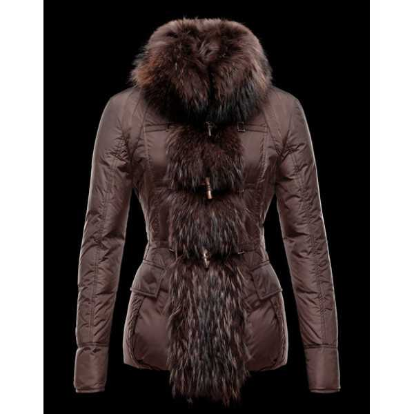 Moncler Jackets Women Grillon Dark Brown