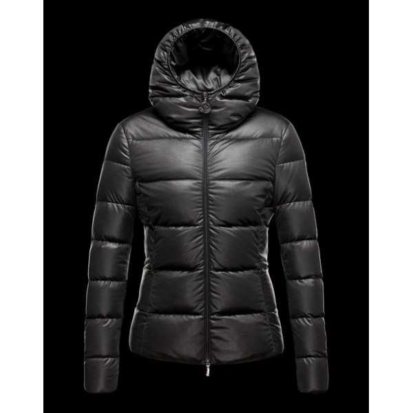 Moncler Jackets Women Jersey Black