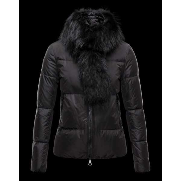 Moncler Jackets Women Lievre Black