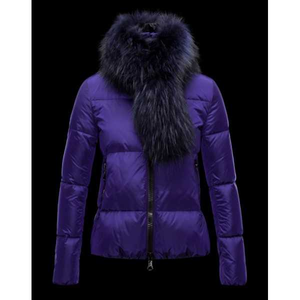 Moncler Jackets Women Lievre Blue