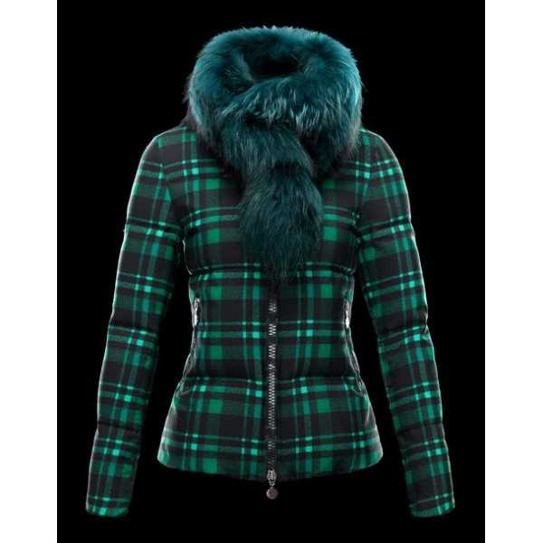 Moncler Jackets Women Lievre Green