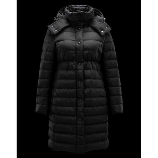 Moncler Jackets Women Long Adoxa Black