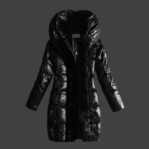 Moncler Jackets Women Long Black