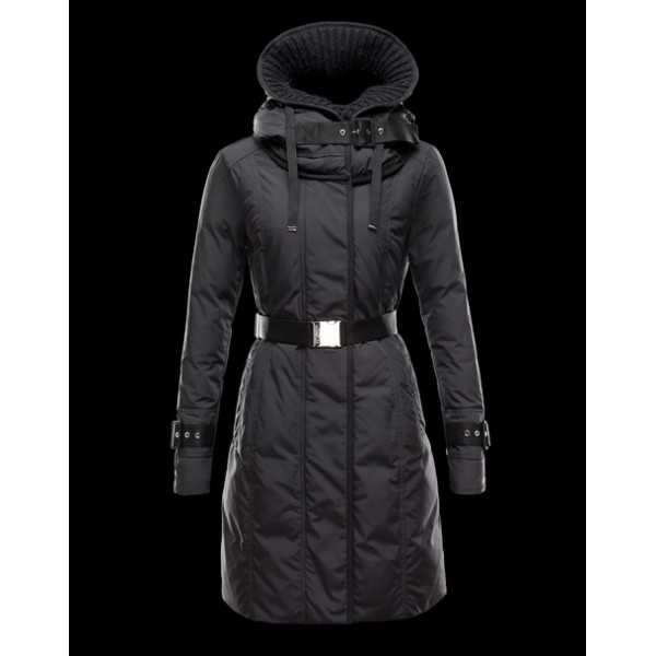 Moncler Jackets Women Long Chacal Black
