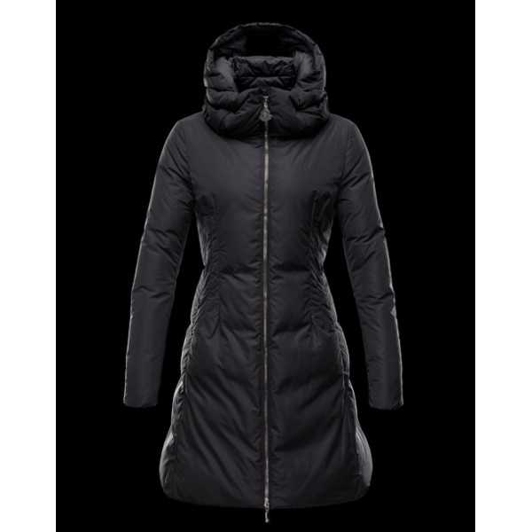 Moncler Jackets Women Long Renne Black