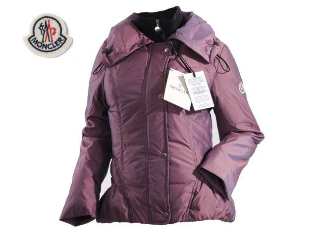 Moncler Jackets Women Long Sleeve With Purple