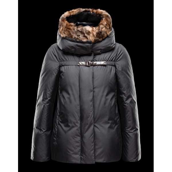 Moncler Jackets Women Short Nandinie Black