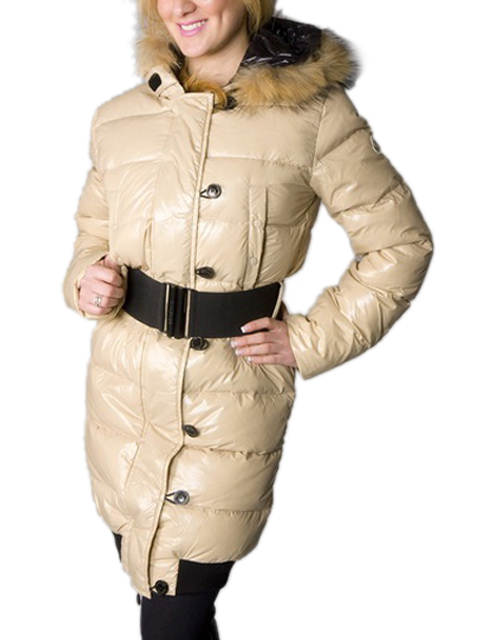 Moncler LUCIE New Women Pop Star Beige Coat Down