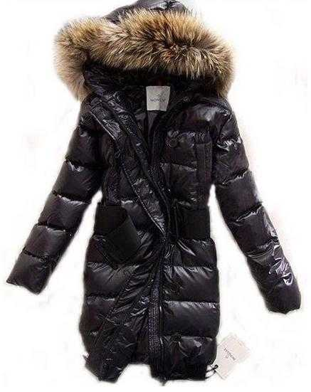 Moncler LUCIE New Women Pop Star Black Coat Down