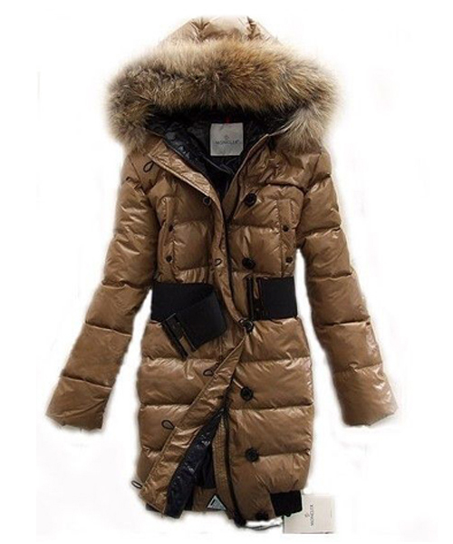 Moncler LUCIE New Women Pop Star Khaki Coat Down