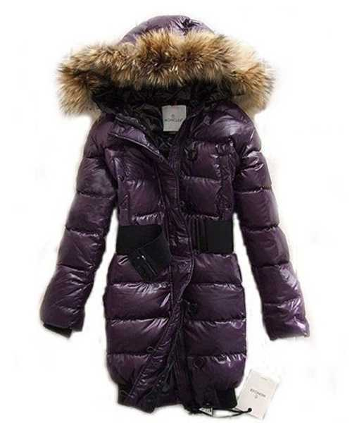 Moncler LUCIE New Women Pop Star Purple Coat Down