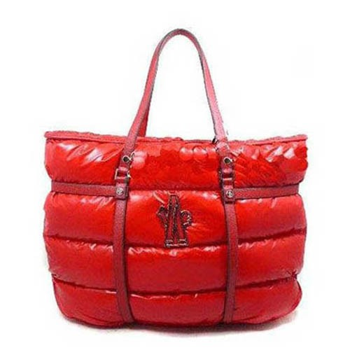 Moncler Large Red Handbag