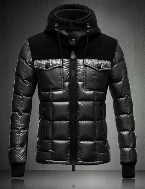 Moncler Lazare Down Jacket Men Short Black