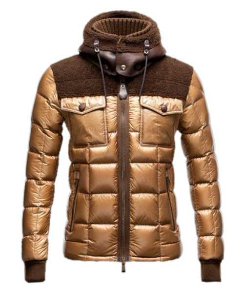 Moncler Lazare Down Jackets Fashion Mens Short Khaki