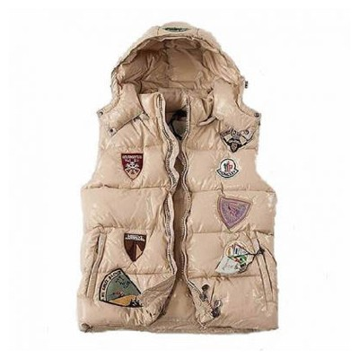 Moncler Limited Edition Cream Vest Men