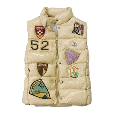 Moncler Limited Edition White Vest Women