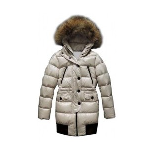 Moncler Loire Down Beige Coat Women