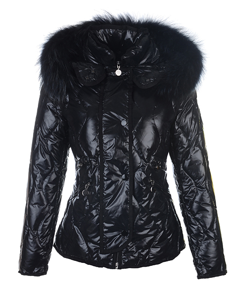 Moncler Lontre Fashion For Women Down Jacket Black
