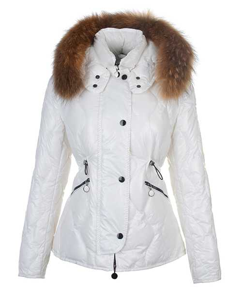 Moncler Lontre Fashion For Women Down Jackets White