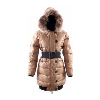 Moncler Lucie Pop Star Down Moccasin Coat Women