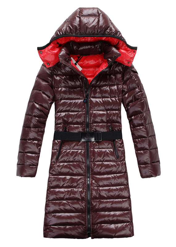 Moncler Down Coats Mokachine Hat Coffee Belt