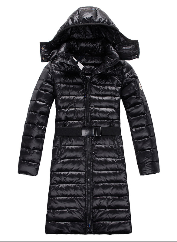 Moncler Down Coats Mokachine Black Belt Hat