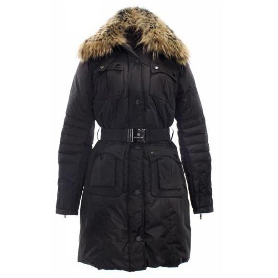 Moncler Marmelade Black Coat Women