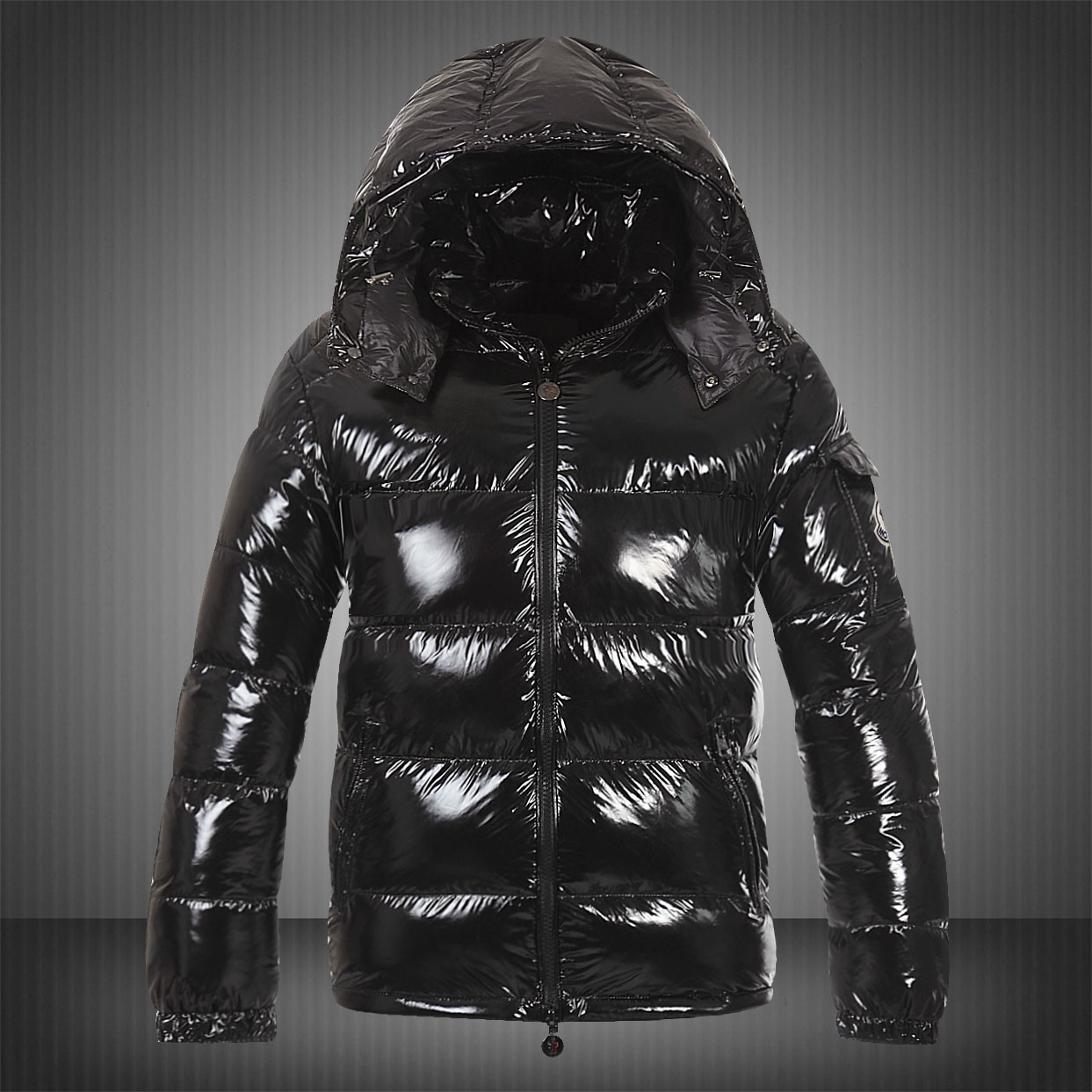 Moncler Maya Mens Down Jackets Black