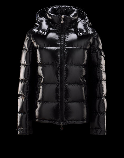 Moncler Maya Winter Mens Down Jacket Fabric Smooth Black